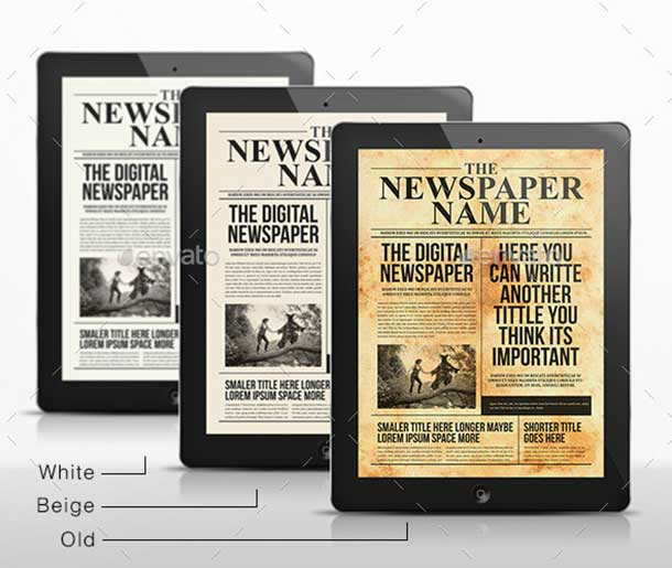 the-digital-newspaper-template
