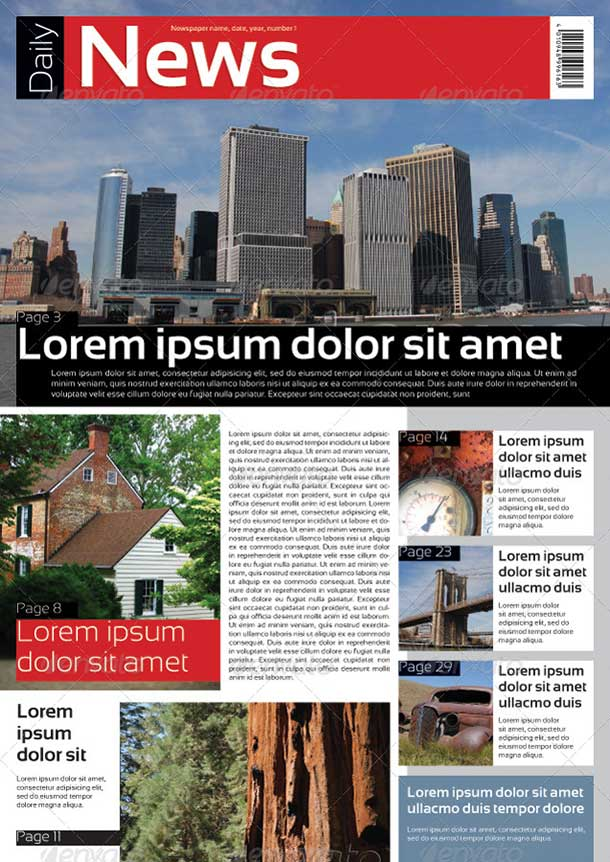 a3-format-indesign-newspaper-template