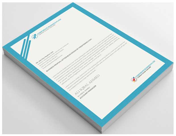 heart-model-letterhead-template