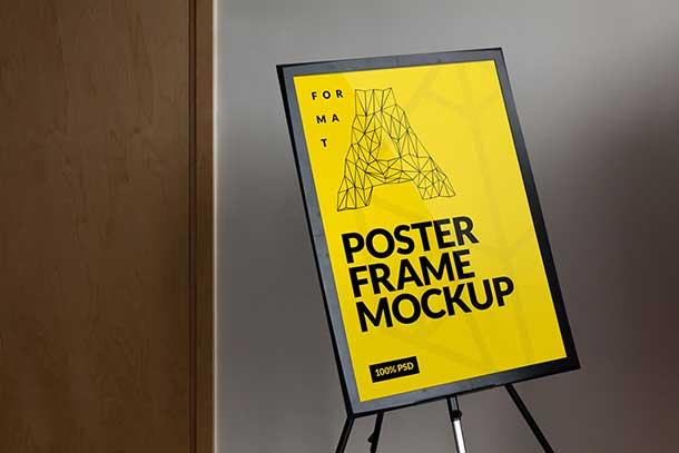 free-frame-poster-mockup