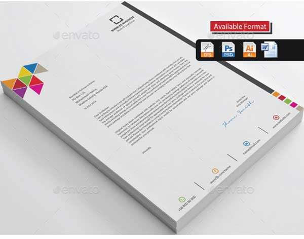 colourful-corporate-business-letterhead-template