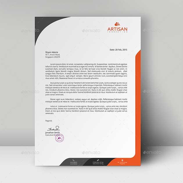 letterhead-template