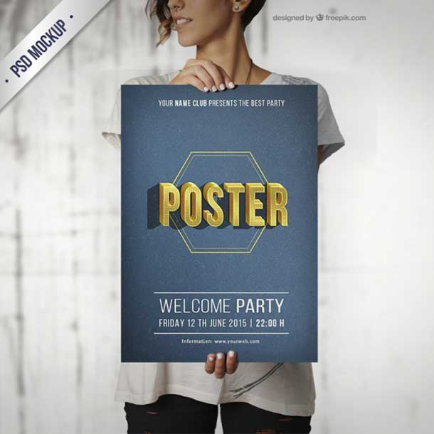 free-psd-typographical-party-poster-mockup
