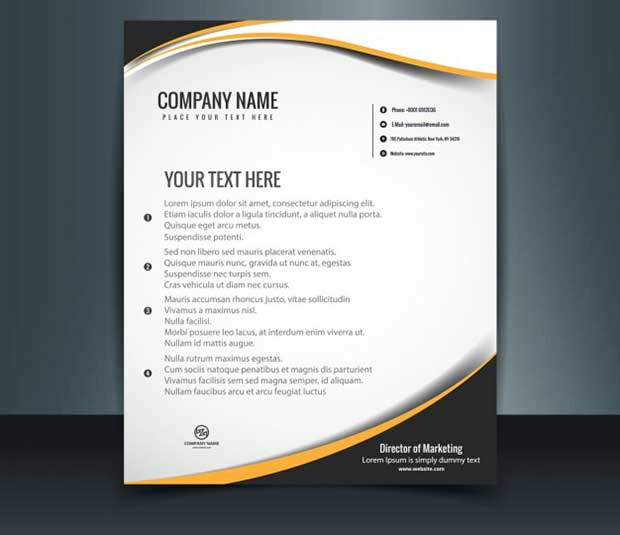 free-letterhead-template-free-vector-download