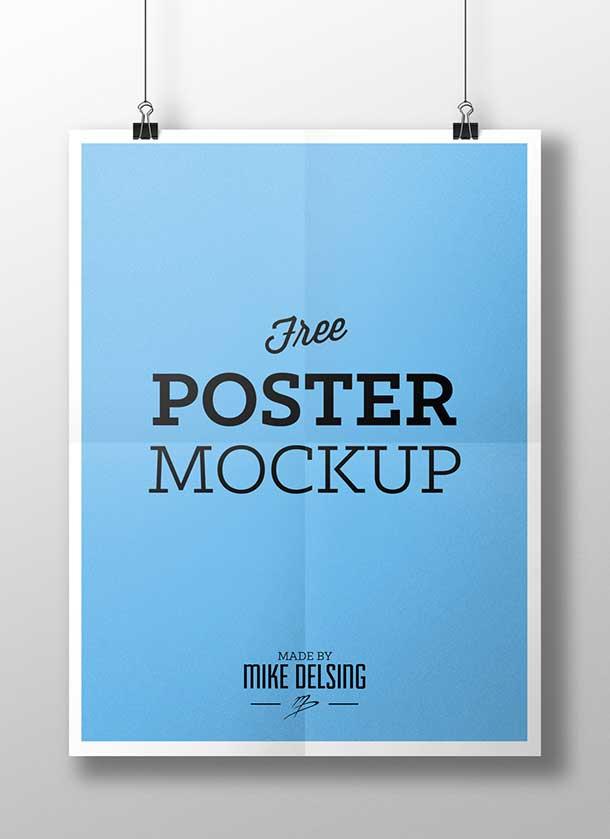 free-poster-mockup-psd-design