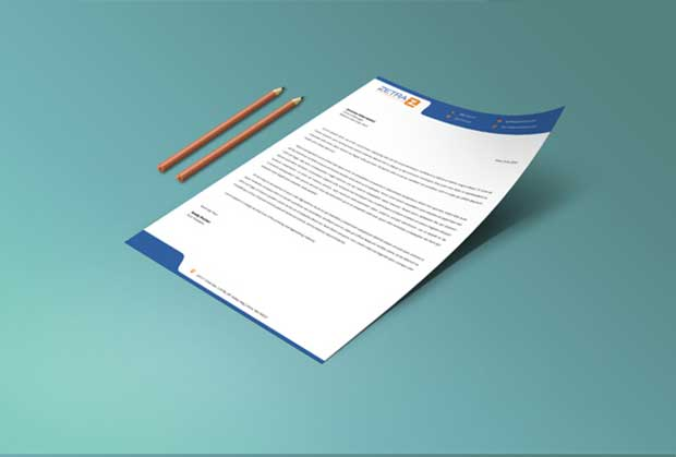 free letterhead templates psd download
