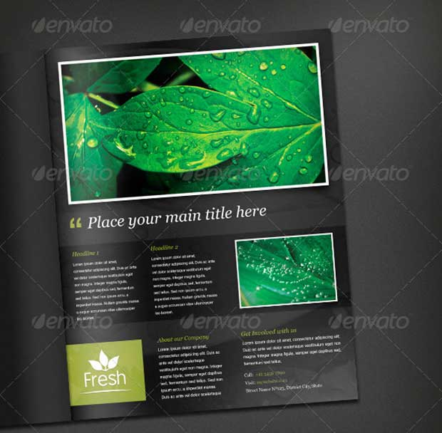 fresh-magazine-ad-template
