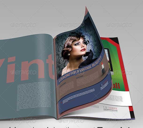 magazine-advertisement-template