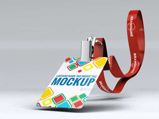 lanyard-name-tag-badge-mockup