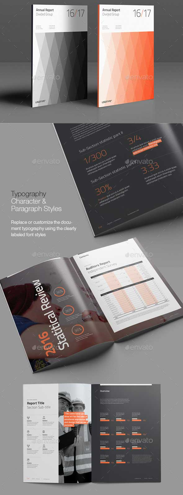 divided-annual-report-template