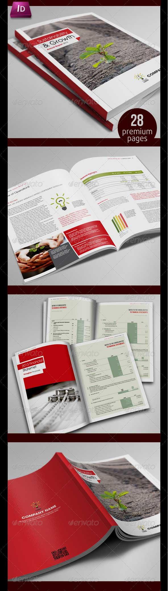 annual-report-design-template