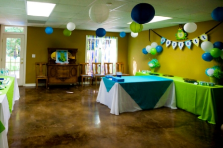 hall decorating ideas for birthday party (