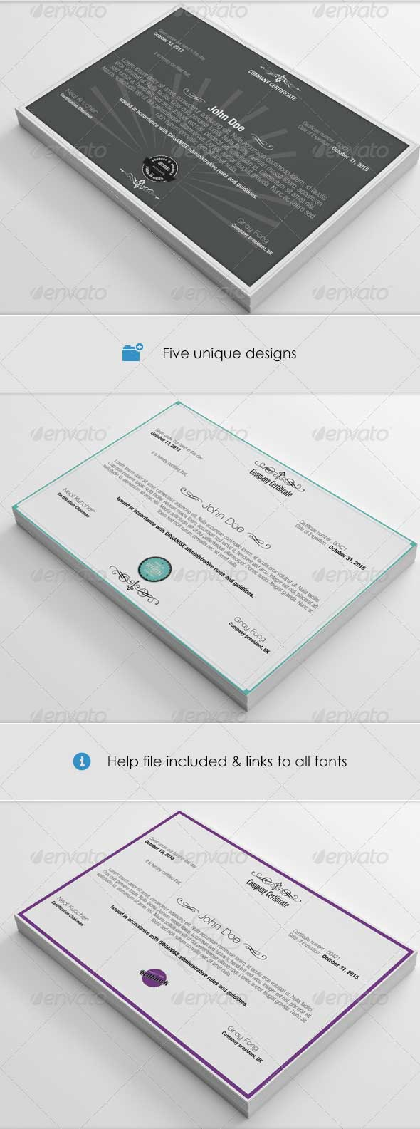 photoshop-psd-certificate-pack