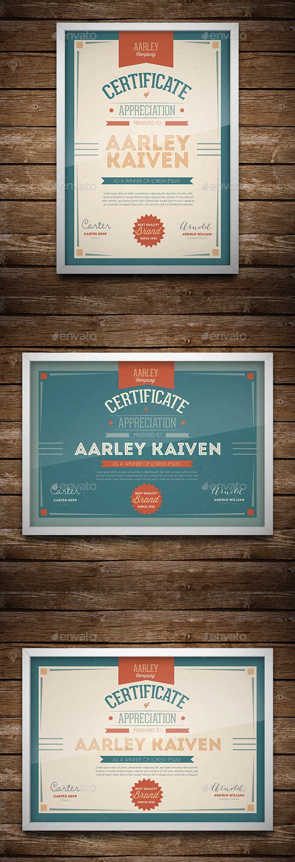 typographic-certificate-template
