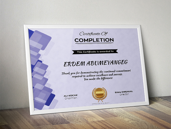 modern and professional free certificate templates