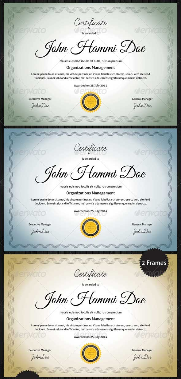 clean-certificate-templates