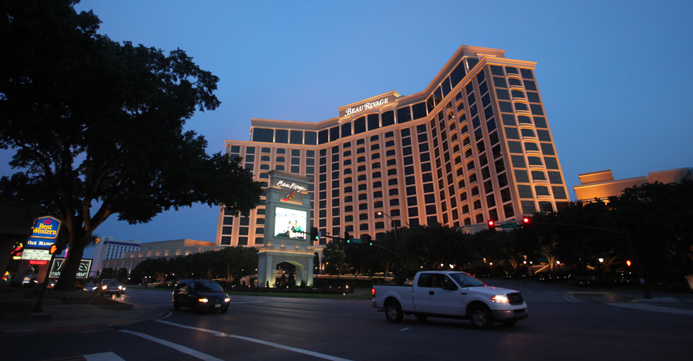 The Beau Rivage, one of Biloxi's biggest casinos.