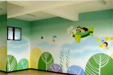 幼儿园室内墙绘图