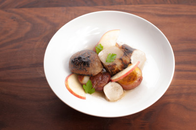 Porcini, Potato, Apple