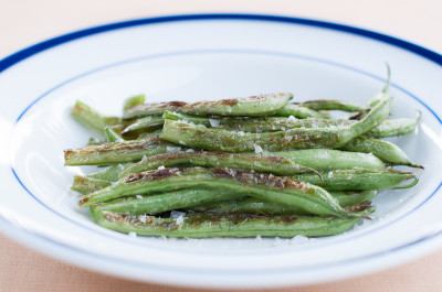 Perfect Pan-Roasted Green Beans