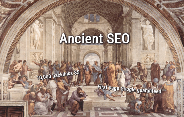 wtf is seo ancient seo