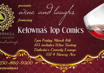 Wine&Laughs7pmFridayMarch8th