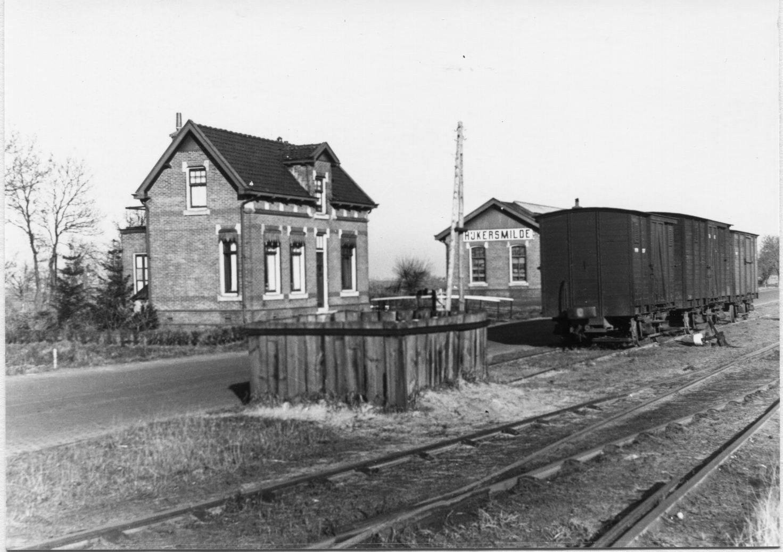 ntm tram spoor smilde chefswoning met station nr