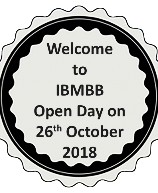 IBMBB Open Day 2018