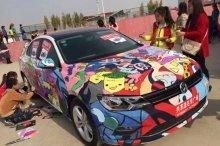 汽车彩绘图片