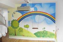 儿童房卡通彩绘