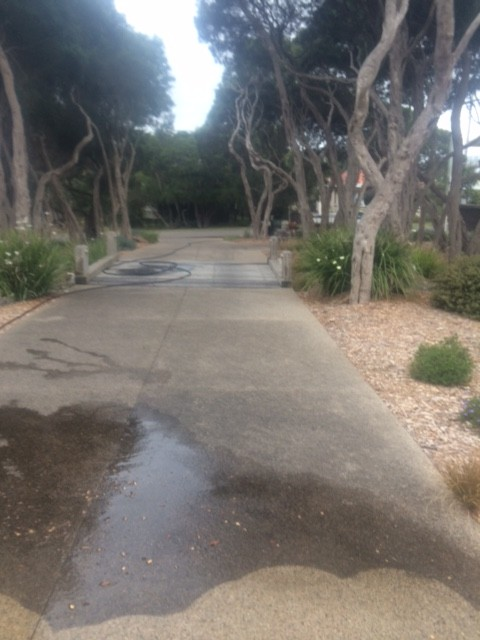 concrete cleaning sorrento