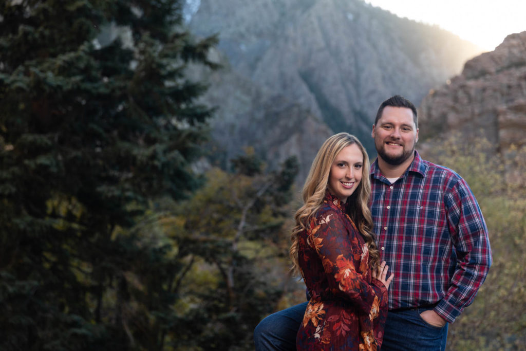 Utah's mountains are awesome for portraits