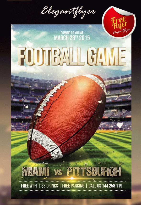 free-flyer-psd-template-football-game