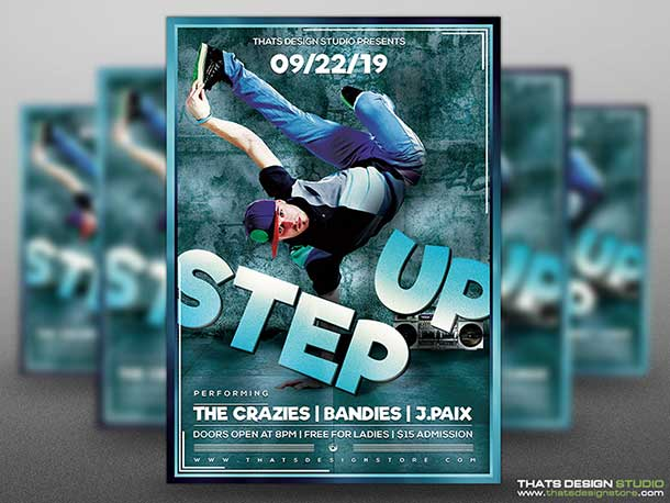 free-step-up-flyer-psd-template