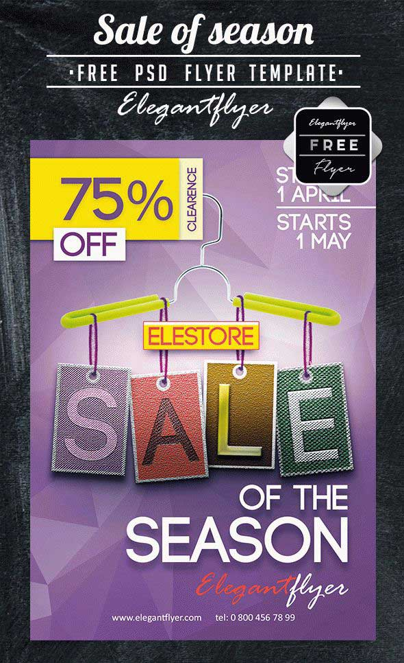 sale-of-season-free-psd-flyer-template