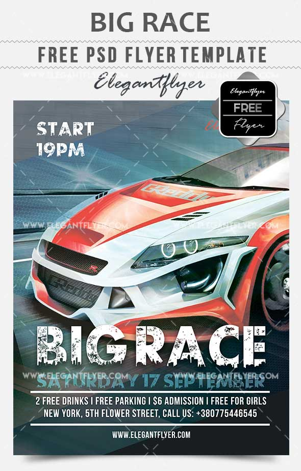 big-race-free-flyer-psd-template