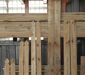 Fencing products brisbane - AAA Timber