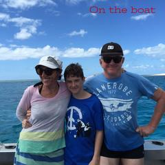 Slater Chartered Accountants on boat whale swim