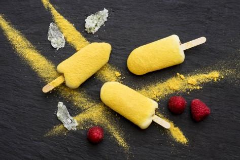 Milk chocolate and passionfruit icecream Cookbooth1-460r