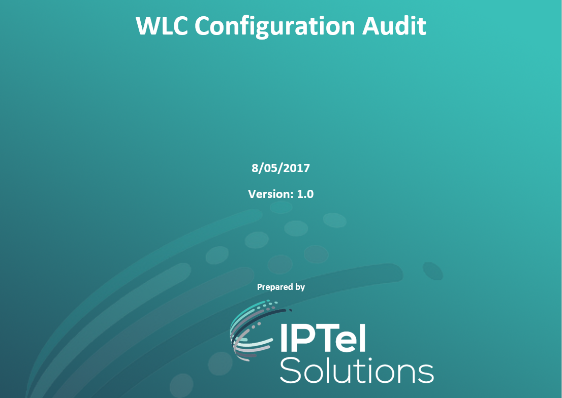 WLC Configuration Audit
