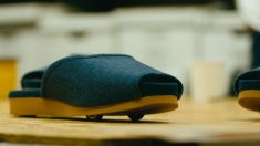 With self-parking slippers, Nissan drives Japanese hospitality to a new level