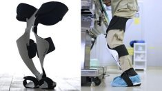 Japanese manufacturer develops 'wearable chair' for surgeons