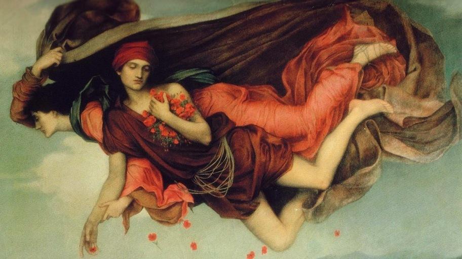 Evelyn De Morgan, la nuit et le sommeil