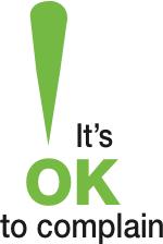 It's OK to Complain - logo