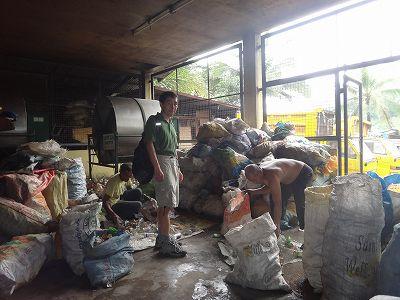 パヤタス瓶リサイクル鳥飼