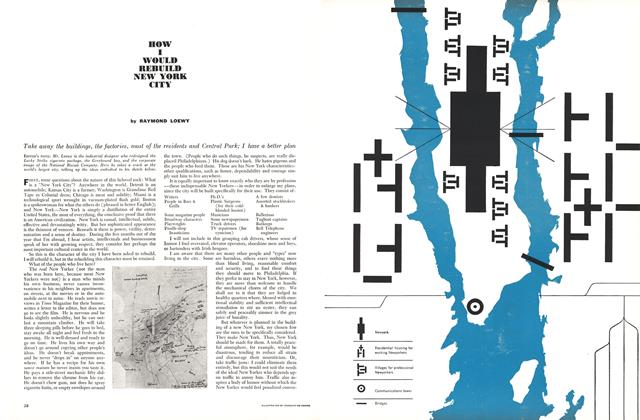 Article Preview: How I Would Rebuild New York City, July 1960   Esquire