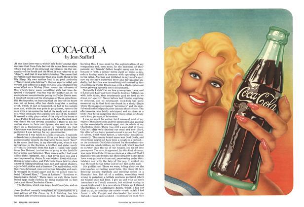 Article Preview: Coca-Cola, DECEMBER 1975 1975   Esquire