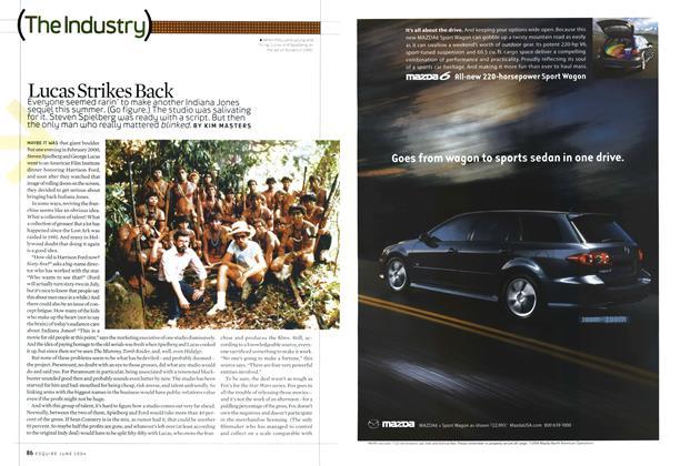 Article Preview: Lucas Strikes Back, June 2004 2004   Esquire