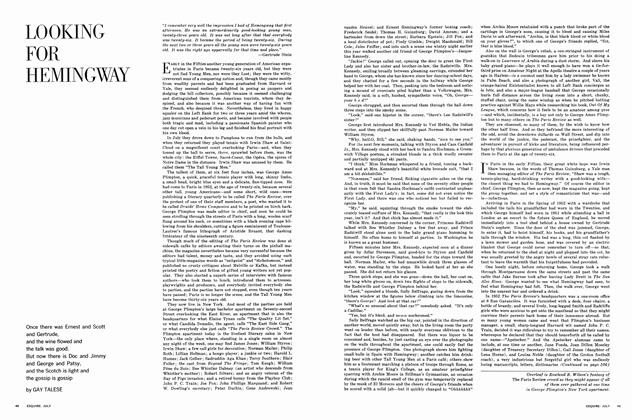 Article Preview: Looking for Hemingway, JULY, 1963 1963   Esquire