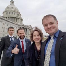 2018 Legislative Blitz selfies